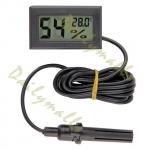 เครื่องวัดอุณหภูมิและความชื้น แบบมีสาย (Digital Hygrometer Temperature & Humidity)