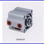 กระบอกลม SDA50X10 Compact Cylinder SDA series