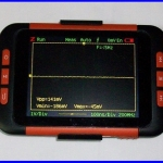 ดิจิตอล ออสซิลโลสโคป Mini Handheld Pocket-Size Digital Oscilloscope 1CH Bandwidth 40M Hz 200MS/s 4K