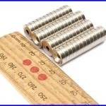 แม่เหล็กถาวร แม่เหล็กนีโอไดเมีย 10x3mm N50 แม่เหล็กถาวรนีโอไดเมียมมีแรงดึงดูดสูง Magnet Neodymium (ชุดละ50ชิ้น)