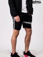 กางเกงขาสั้น พรีเมี่ยม ผ้า COTTON รหัส SS T215 TAX ฺB สีดำ แถบแท็กดำ SUMMER SALE
