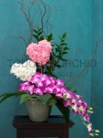 แจกันดอกไม้ Sweet Heart รหัส 3034