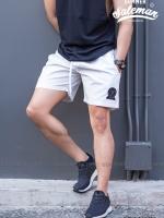 กางเกงขาสั้น พรีเมี่ยม ผ้า COTTON รหัส SS 222 สีขาว