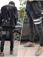 STRETCH JEANS JOGGER PANTS | ขาจั๊มยีนส์ยืด YM610 S