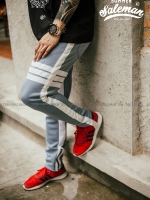กางเกง ขายาว พรีเมี่ยม ผ้า วอม wt 623 tax 3bar w