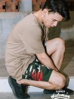 กางเกงขาสั้น พรีเมี่ยม ผ้า COTTON รหัส WT280 CLAW PANT สีทหารเขียว เล็บเสือดำ