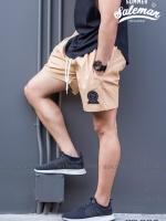 กางเกงขาสั้น พรีเมี่ยม ผ้า COTTON รหัส SS 201 สีครีม