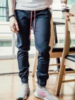 กางเกง JOGGER พรีเมี่ยม ผ้า COTTON รหัสSS 612 NAVY BLUE