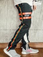 กางเกง ขายาว พรีเมี่ยม ผ้า วอม รหัสwt 615 tax 3bar R