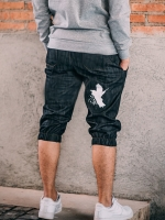กางเกงขาสามส่วนยีนส์ รหัส Y 310 Bird