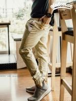 กางเกง JOGGER พรีเมี่ยม ผ้า COTTON รหัส SS 602 SOFT GRAY