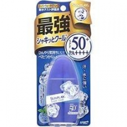 Rohto Mentholatum Sunplay Super Cool SPF 50+ PA++++ 30 g.(27 ml.) จากญี่ปุ่นค่ะ