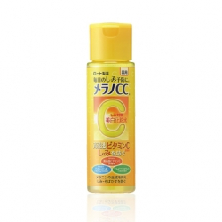 Rohto Melano CC lotion 170 ml.โลชั่นน้ำตบที่มีส่วนผสมของ vitamin C กระชับรูขุมขน ช่วยปรับสภาพผิวให้ขาวขึ้น ลดรอยจุดด่างดำรอยหมองคล้ำ made in Japan ค่ะ