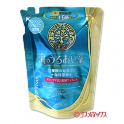 KANEBO Kracie Umi no Uruoisoแพคเกจใหม่ล่าสุด แชมพู+ครีมนวดผมสาหร่าย 11 ชนิดจากญี่ปุ่น 2 in 1 ขนาด 400 ml.