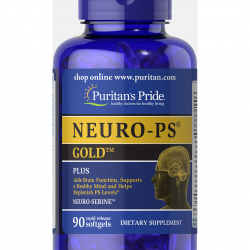 Puritan's Pride NEURO PS GOLD 90 softgels วิตามินบำรุงสมอง บำรุงระบบประสาท รุ่นพรีเมี่ยม จากอเมริกาค่ะ