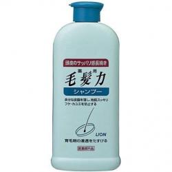 Lion Medicated Hair Strength Shampoo 200 ml. แชมพูบำรุงรากผม ลดการหลุดร่วงของเส้นผม ช่วยให้รากผมแข็งแรง มีผมใหม่ขึ้น