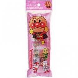 Set แปรงสีฟัน-ยาสีฟัน สำหรับเด็ก ANPANMAN จากญี่ปุ่นค่ะ