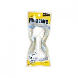 ขนมสุนัข MUNZNIE mini กระดูกผูก 4 นิ้ว รสนม/ 1 ชิ้น