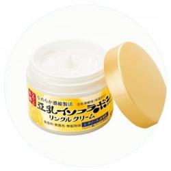 SANA smooth honpo wrinkle cream 50 g.ครีมลดเลือนริ้วรอยด้วย soy isoflavones จากถั่วเหลือง ,เซรามายด์และเรตินอล ช่วยเรื่องริ้วรอยโดยเฉพาะค่ะ