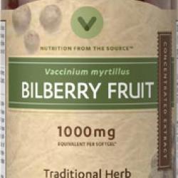 แพคเกจใหม่ล่าสุด Vitamin World Bilberry 1,000 mg.ขนาด 90 เม็ด วิตามินบำรุงสายตาจากอเมริกาค่ะ