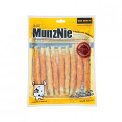 ขนมสุนัข MUNZNIE ไก่พันครันชี่ 8 ชิ้น