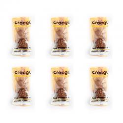 PET2GO ขนมขัดฟันสุนัข CROCGY รสไก่ 18g (6ตัว/ชุด)