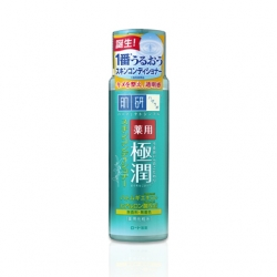 Hadalabo medicated skin conditioner 170 ml.โลชั่นน้ำตบขวดเขียว สำหรับผิวแพ้ง่าย เป็นสิวง่าย ช่วยลดรอยแดงของสิว ผิวมันถึงผิวผสมค่ะ