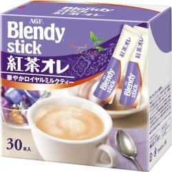 AGF Blendy Stick รสชานม Royal milk tea กล่อง 10 ซอง หอมและอร่อยมาก ไม่หวานมาก เป็นชานมญี่ปุ่นที่ต้องลองค่ะ