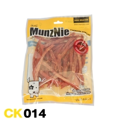 ขนมสุนัข MUNZNIE สันในไก่นิ่มสไลด์ 160g
