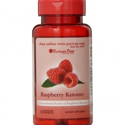Puritan's Pride Raspberry Ketones 100 mg 60 เม็ด ช่วยเผาผลาญไขมันส่วนเกินและควบคุมน้ำหนักค่ะ