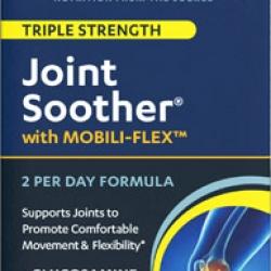 แพคเกจใหม่ล่าสุดค่ะ Vitamin World Joint Soother Triple Strength 180 Coated Cablets มีครบทั้ง 3 ตัวหลักๆที่คนมีปัญหาเรื่องข้อต้องการ Glucosamine ,Chondroitin ,MSM จากอเมริกาค่ะ