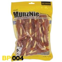 ขนมสุนัข MUNZNIE สันในไก่เสียบครั้นชี่นิ่ม 400g / Soft Crunchy Through Chicken Fillet Jerky 400g
