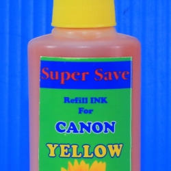 "น้ำหมึก Super Save 100 cc for CANON ""YELLOW"""