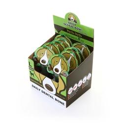 PET2GO ขนมขัดฟันสุนัข เดลี่ เดนทัลโบน รสคลอโรฟิลล์ 70g (10ชิ้น/กล่อง)