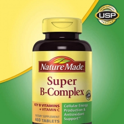 Nature Made Super B Complex วิตามินบีรวม 460 เม็ด ไซค์ใหญ่ขนาดครอบครัว จากอเมริกาค่ะ