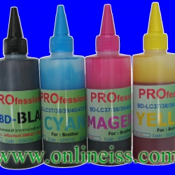 BD-LC38K/67K/39K REFILL INK MIRACLE Pro 100 cc BROTHER Black