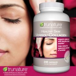 Trunature Verisol Collagen 240 เม็ด คอลลาเจนเปปไทล์ที่ดีที่สุดในท้องตลาดขณะนี้ จากอเมริกาค่ะ