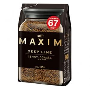 กาแฟ MAXIM Deep Line 135 g.และ 70 g รสชาติหอม เข้ม ขายดีมากๆในญี่ปุ่น คอกาแฟไม่ควรพลาดค่ะ
