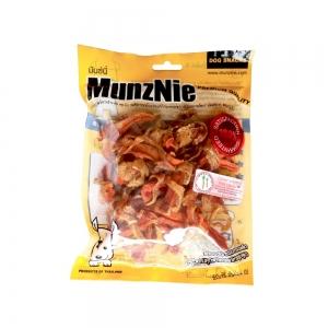 ขนมสุนัข MUNZNIE ไก่พันแครอท บรรจุ 100g