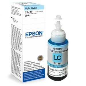 Epson หมึกเติม L-Series สีดำ รุ่น T67351 (LIGHT CYAN)
