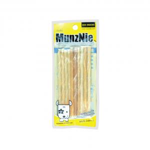 ขนมสุนัข MUNZNIE mini ชิวสติ๊ก สีธรรมชาติ