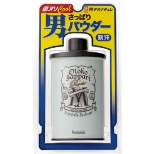 Deonatulle OTOKO SAPPARI Powder 45 g. Cool, Dry & Silky แป้งเย็นระงับกลิ่นกาย เนื้อละเอียด หอม เย็นสบายตัวมากๆ จากญี่ปุ่นค่ะ