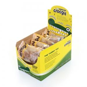 PET2GO ขนมขัดฟันสุนัข CROCGY รสไก่ 63g (14ตัว/กล่อง)