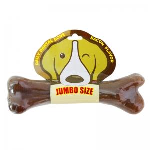 PET2GO ขนมขัดฟันสุนัข เดลี่ เดนทัลโบน รสเบคอน 175g