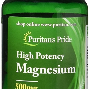 Puritan's Pride Magnesium 500 mg 100 เม็ด ช่วยบำรุงกระดูก และเสริมสร้างกล้ามเนื้อ ช่วยให้การเผาผลาญน้ำตาลเป็นไปอย่างมีประสิทธิภาพค่ะ