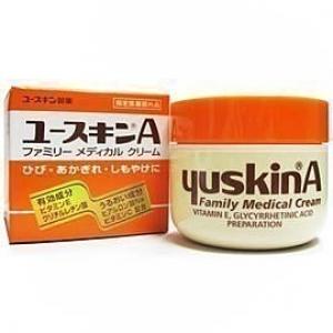 Yuskin A Family Medical Cream 120 g. บำรุงผิวที่แห้งมากๆ ยอดขายอันดับ 1 ในญี่ปุ่น ตัวนี้ดีมากๆ จากญี่ปุ่นค่ะ