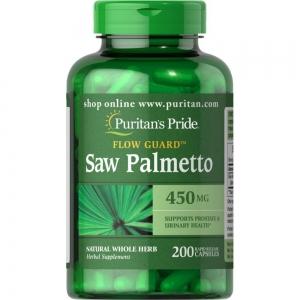 Puritan's Pride Saw Palmetto 450 mg 200 เม็ด บำรุงต่อมลูกหมากคุณผู้ชาย ลดอาการปัสสาวะบ่อยตอนกลางคืนค่ะ