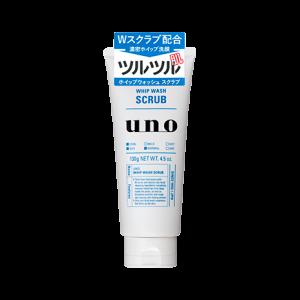 แพคเกจใหม่ล่าสุดค่ะ Shiseido uno whip wash scrub 130g for Men Cleanser