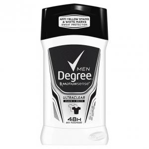 Degree Men Ultra Clear Black + White Antiperspirant and Deodorant 2.7 oz(76 g) ระงับกลิ่นกาย 48 ช.ม เสื้อไม่เหลือง ไม่เป็นคราบขาวค่ะ
