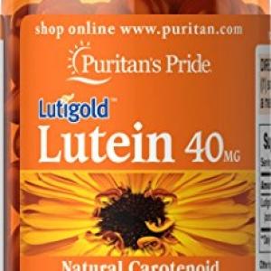 Puritan's Pride Lutein 40 mg (มี Zeaxanthin 1,600 mcg) 120 เม็ด บำรุงสายตาจากอเมริกาค่ะ